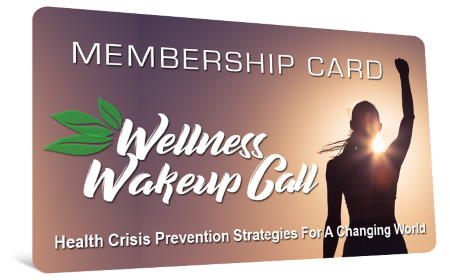 Wellness Wakeup Call membership card